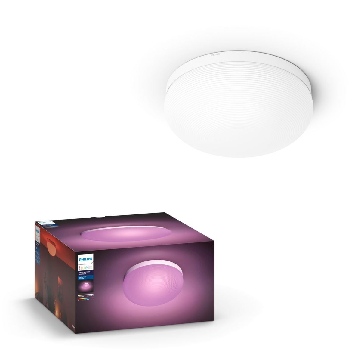 Hue White And Color Ambiance Flourish Ceiling Light
