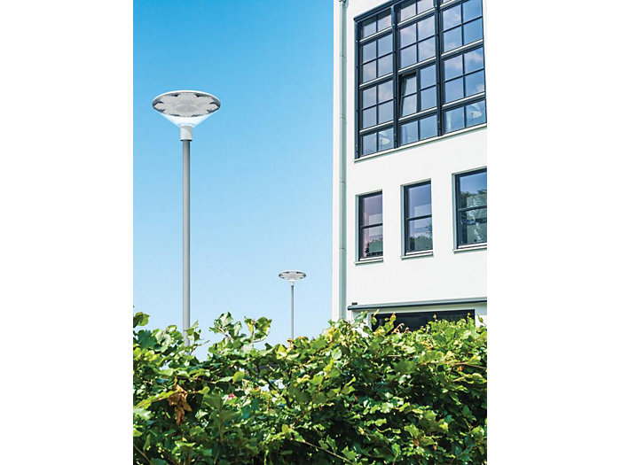 TownGuide LED Classic Cone Post-Top, Frosted, 128 LED, Type V