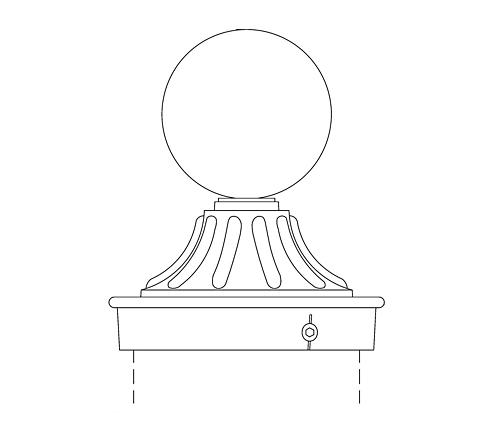 Post Cap (PC16-4)