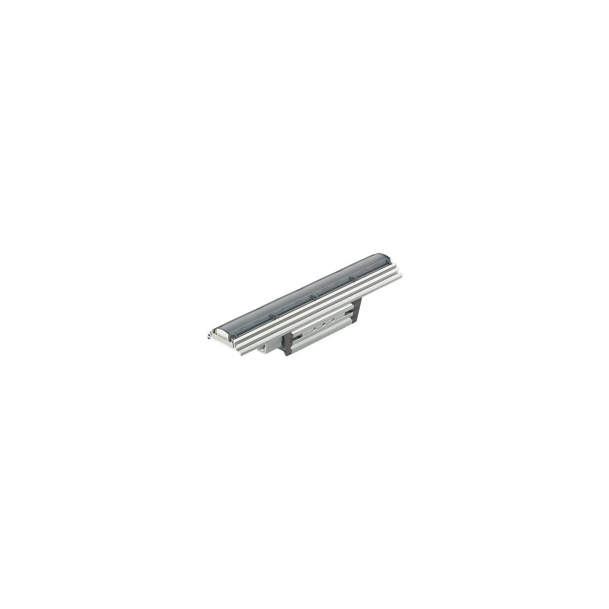 eW Graze EC Powercore – Cost-effective linear exterior LED wall grazing luminaire with solid white light
