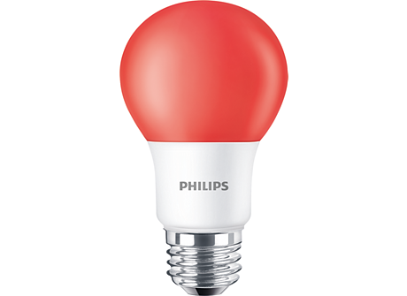 Standard LEDBulb BC8A19/LED/RED/ND 120V 6/1