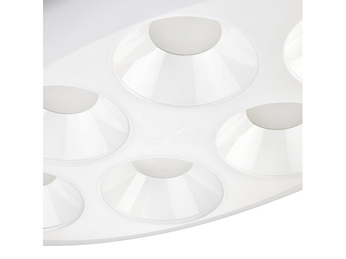 Poly-carbonate LED cup