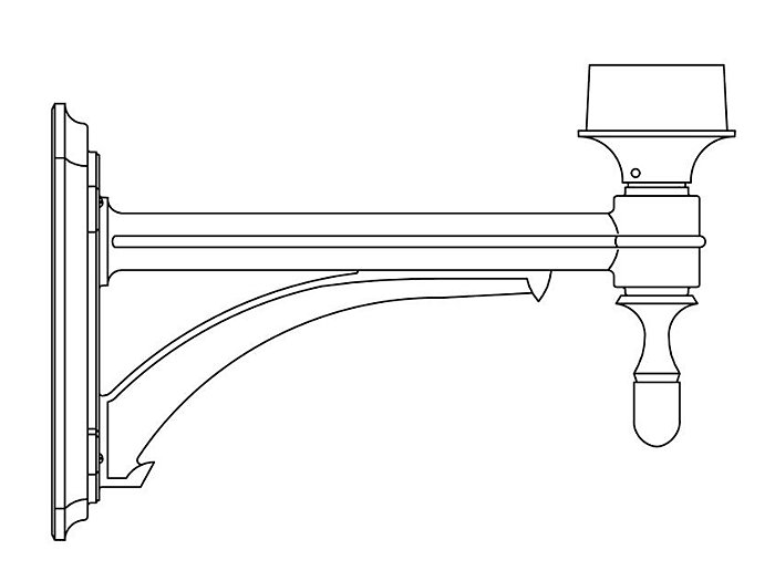 Wall Mount Bracket (570)