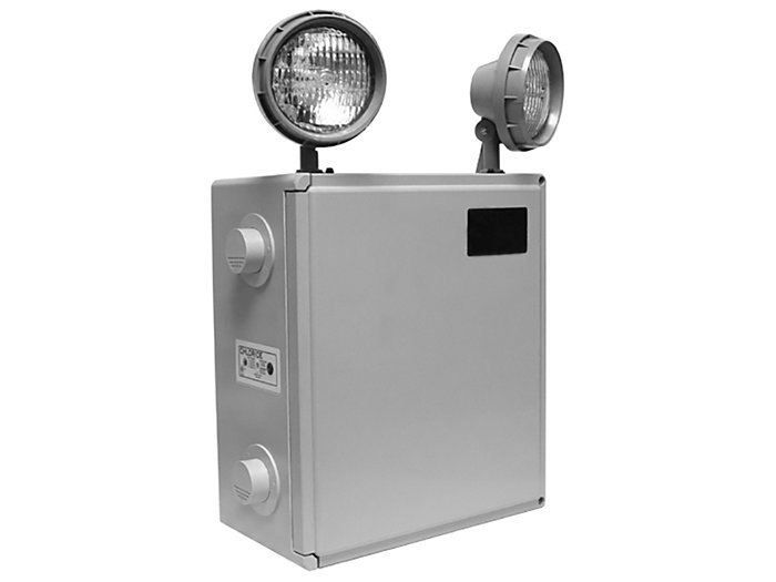 Steel-Lite Series, 12V Lead Calcium 50W, 12VDC Halogen 12W Lamp, 2 Lamp Heads, Intelli-Charge Diagnostics