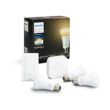 Hue White Ambiance Starter-Kit, E27