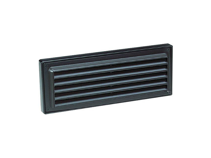 Step Light, Aluminum Louver Brick Light, Bronze, 18W S-8 (1141) x2, 12V