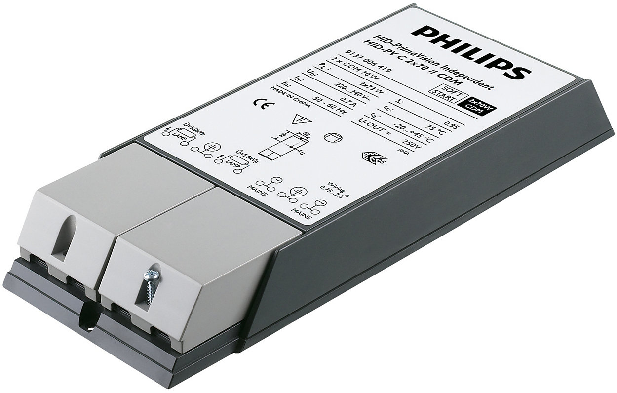 PrimaVision Twin (35W & 70W) for CDM - The cost-effective solution