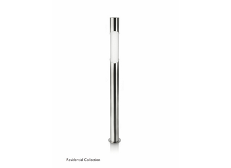 Bamboo post inox 1x11W 230V
