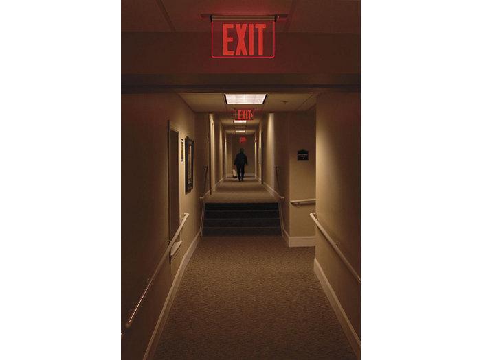 44R Series Edge-Lit Exit
