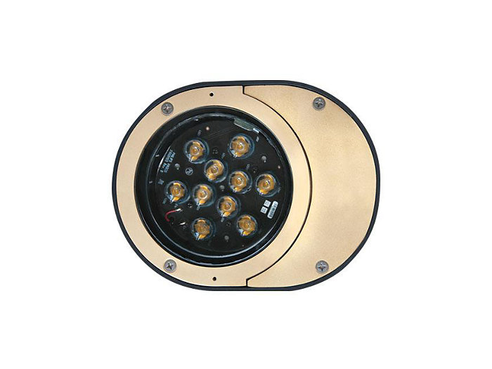 Inground, 12W LED, Spot Optics, 4000K, 120V
