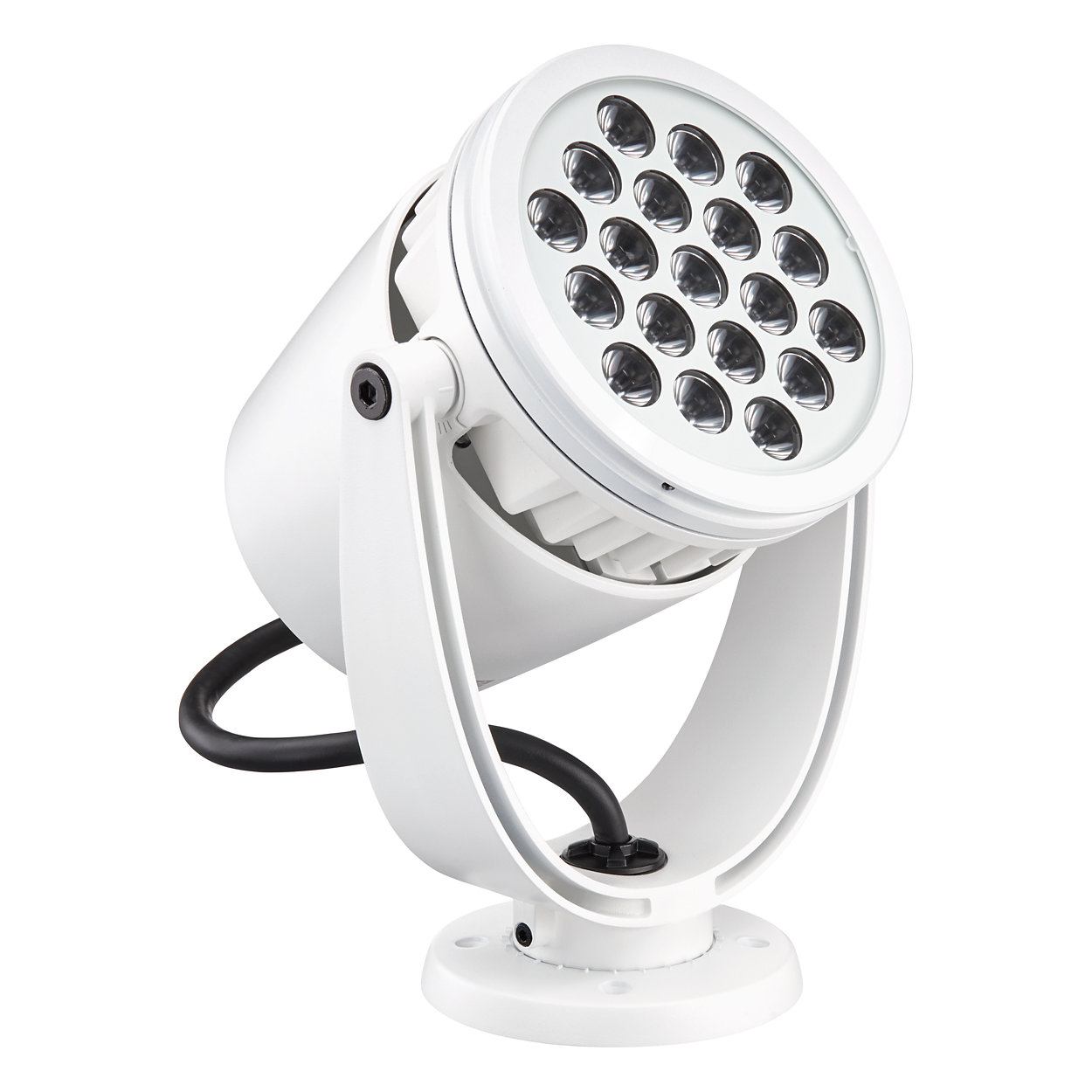 eColor Burst Powercore gen2 - Architectural and landscape LED spotlight with solid color light