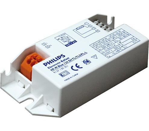 HF-M BLUE 124 SH TL/TL5/PL-L 230-240V HF-MatchboxBLUE für PL/TL ...