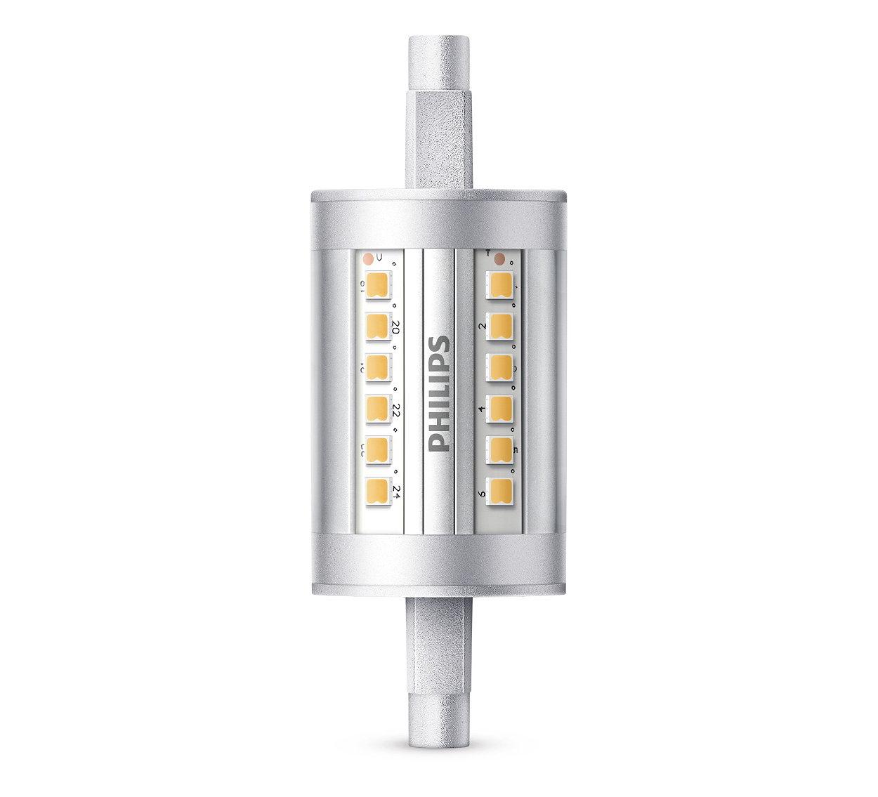 Duurzame LED-lamp met een lichtbundel van 300 graden