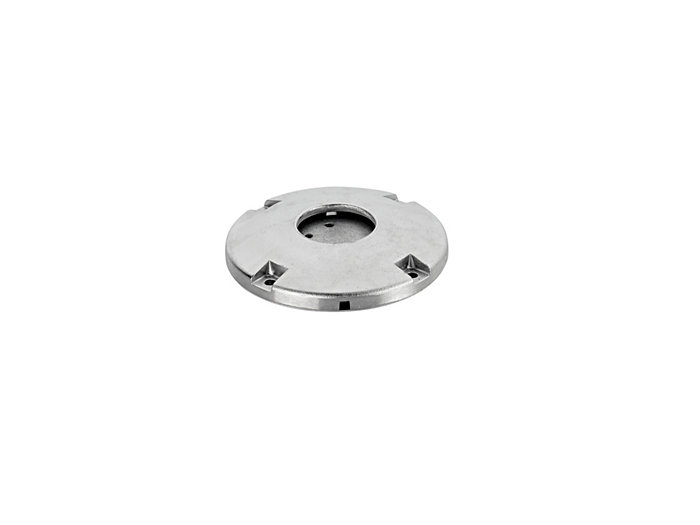 Rotatable suspension bracket (for wire-bearing cross-suspensions)