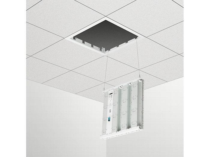 Puntos de conexión de cable de servicio (versiones de perfil oculto y techo de escayola)