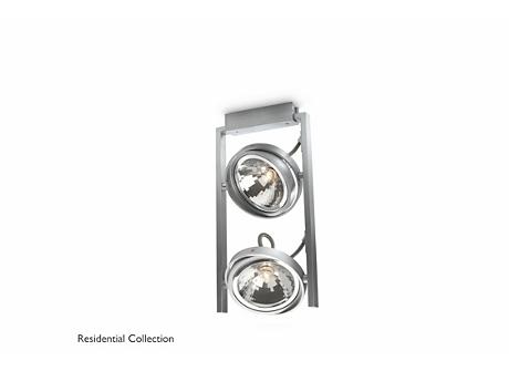 FAST special form aluminium 2x60W 230V