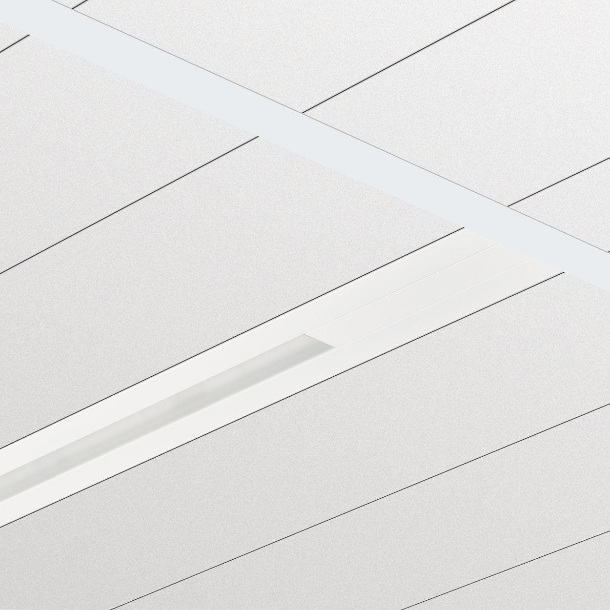 Philips TrueLine Inbouw - Een echte lichtlijn; elegant, energiezuinig en in overeenstemming met de normen voor kantoorverlichting.