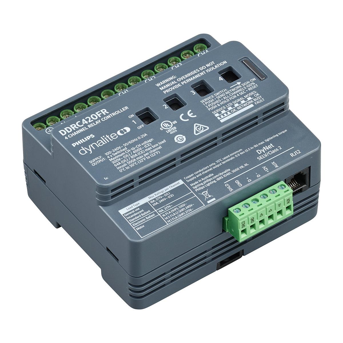 DDRC420FR V1 Dynalite Relay Controllers