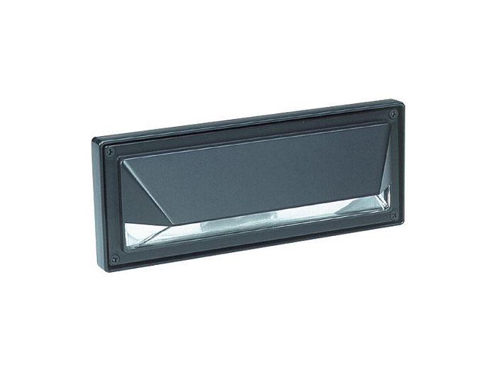 Step Light, Polycarbonate, Bronze, 40W T10, 120V