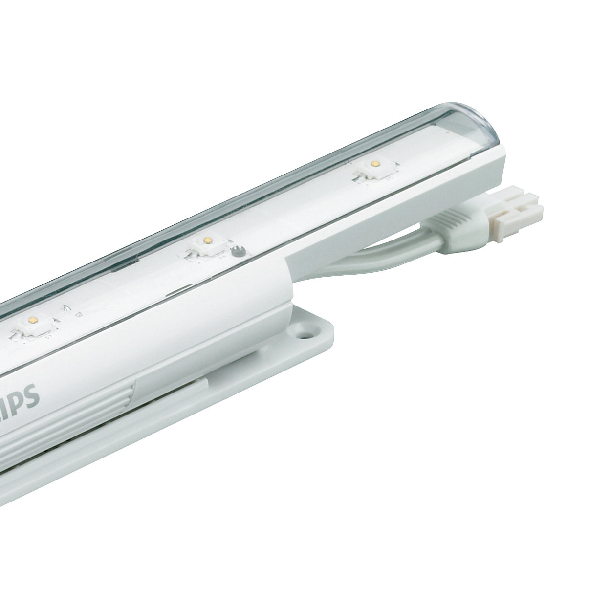 eW Cove QLX Powercore – Performance interior linear LED cove and accent luminaire with solid white light