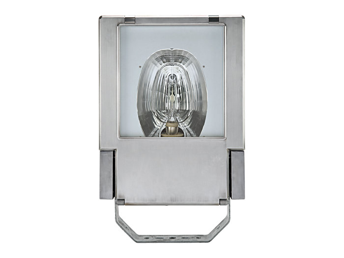 OptiFlood MVP506 floodlight with MASTERColour CDM Elite MW lamp in POT-OR optic