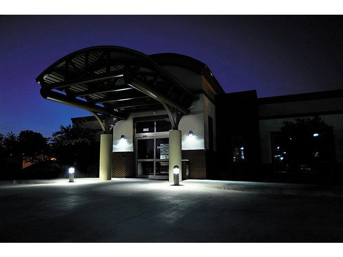 Patron LED Emergency Wall Light-Application Photo