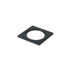 300 SeriesSquare Plate 3 3/4 Black