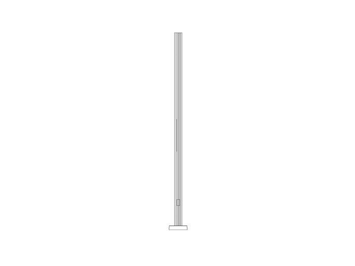 TRADITIONAL ALUMINUM POLE