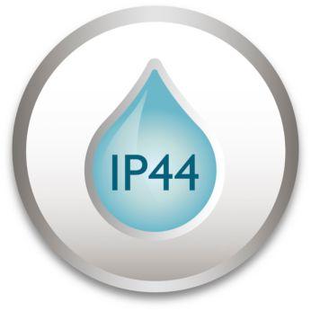 IP44 – odporność na działanie warunków atmosferycznych