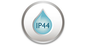 IP44 – piemērots izmantošanai ārā