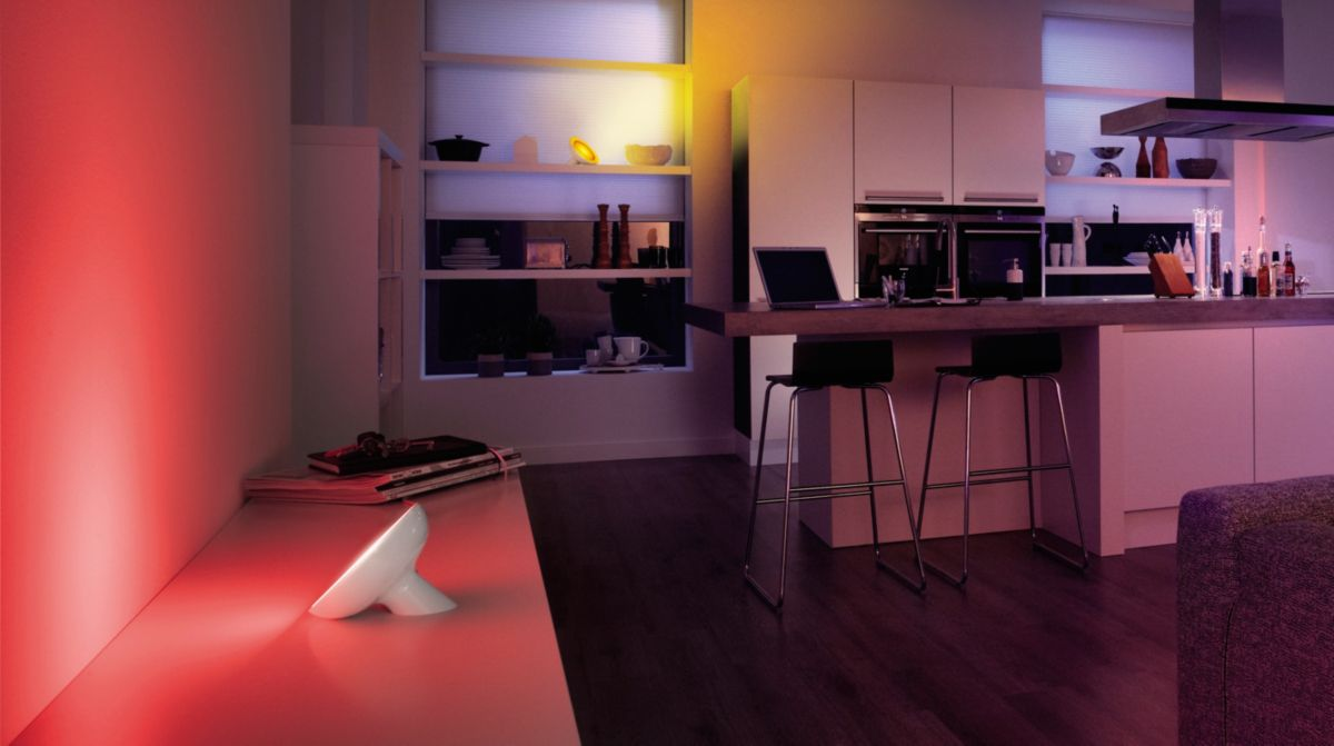 Accent your home with colored smart light