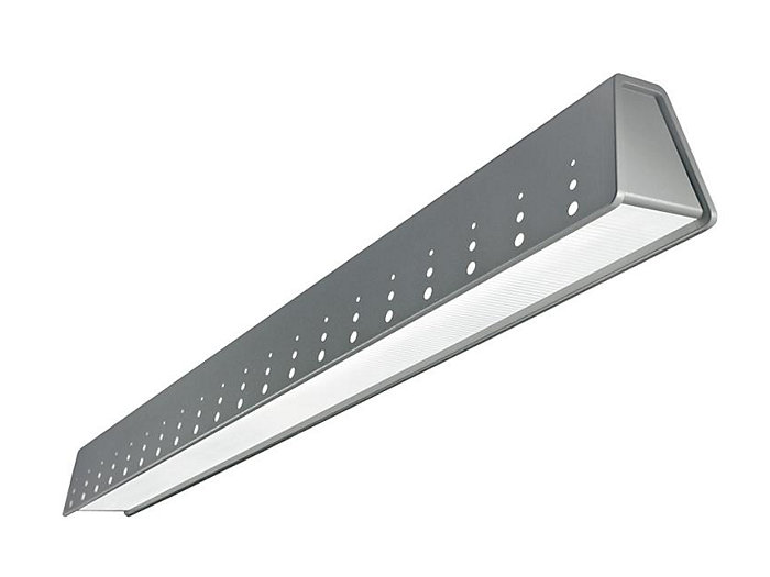Jump Cantilever Asymmetric LED, 2000 lm/4ft, 3000/3500/4000K Direct, Ribbed MesoOptics Lens - Splash/Pixel