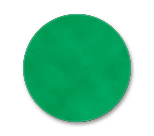 "6 1/4"" Dichroic Color Filter Primary Green"