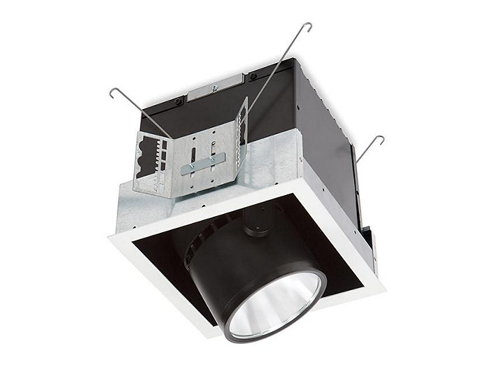 Alcyon LED Vertical 2000lm Cylinder (LLAVRM), Recessed Lighting, Fixture, 4000K, Matte White, 1 head