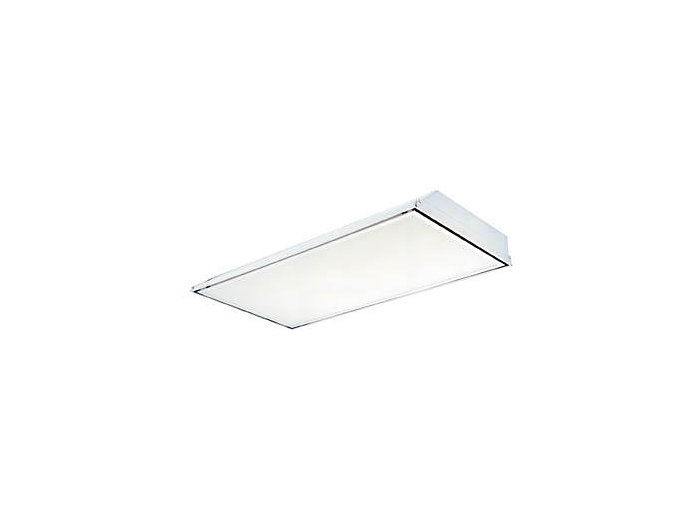 "2x4, 4 Lamp F32T8, Clean Room, Pattern 12 .125"" Thick Acrylic Lens"