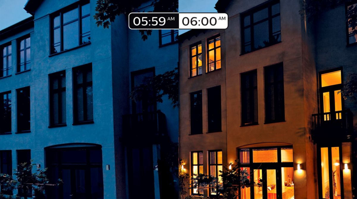 Sync your smart lights to sunrise and sunset