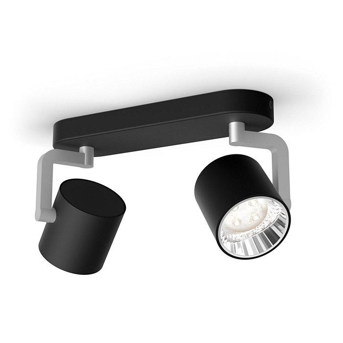Uma lâmpada, o seu interruptor, três definições de luz.