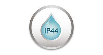 IP 44, utformet for utendørsbruk