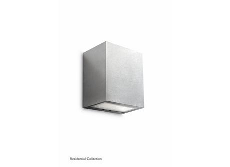 Flagstone wall lantern inox 3x1W SELV
