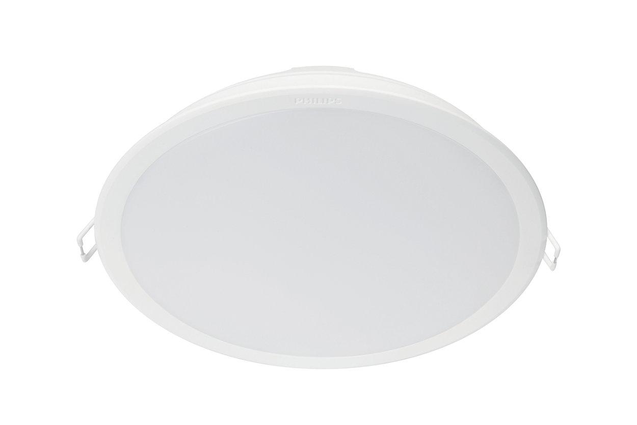 Příjemné světlo LED šetrné kvašim očím