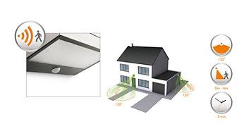 Integrierter Bewegungssensor für mehr Komfort und Sicherheit