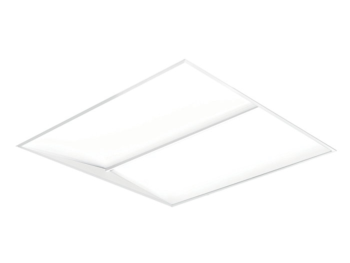 SilkSpace 2'x2' LED, 1700 lm, 3000/3500/4000K Direct, Beam Shaping Light Guide with MesoOptics