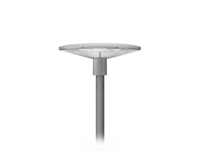 TownGuide LED Flat Cone Post-Top, Clear, 128 LED, Type V