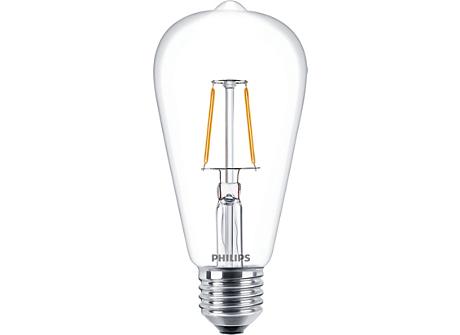 CLA LEDBulb ND 2.3-25W E27 WW ST64 CL