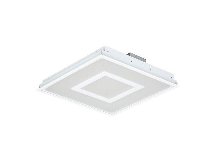 Corp de iluminat încastrat SmartBalance RC482B LED, dimensiune modul 312,5x1.250 (variantă tavan profil ascuns sau tavan tencuit)