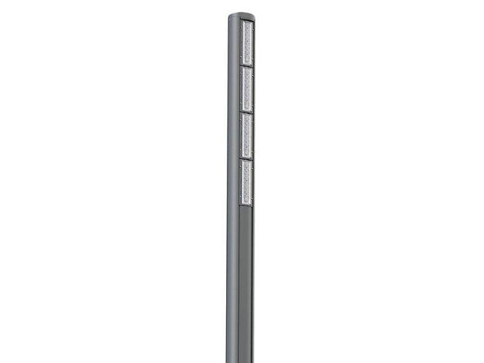 SoleCity ULLC100, Vertical Projection LED Light Post, 64 LED,  Type IV, Short, LEV5