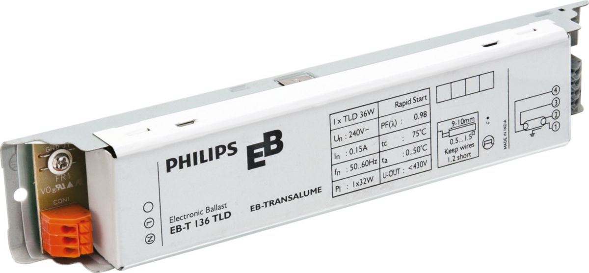 Philips Electronic Ballast Wiring Diagram - ( Simple Electronic ...