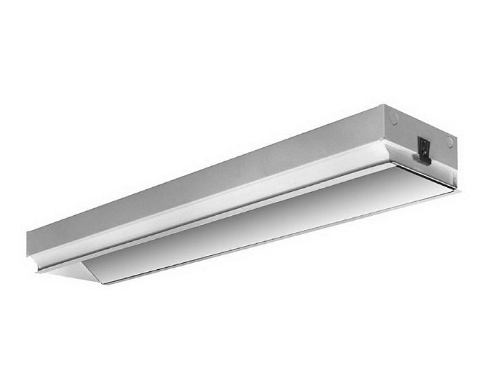 High Performance, 4', Lensed Recessed Wallwasher/Accent Light, T8 2 Lamp, Low iridescent specular reflective system for precise controlled light output.