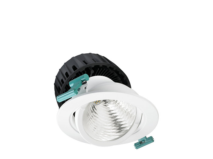 LuxSpace Accent adjustable downlight, performance version