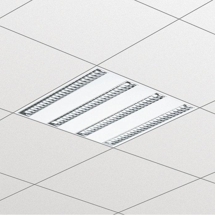 SmartForm – modulare Einbauleuchten für fast jede Decke
